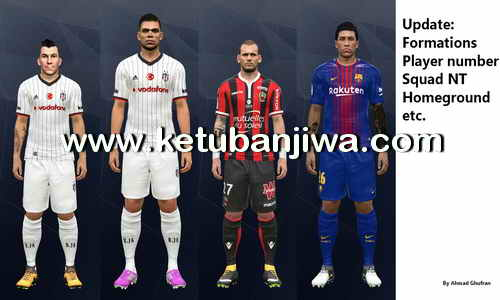 PES 2017 PTE 6.0 Option File + Fix 15 August 2017