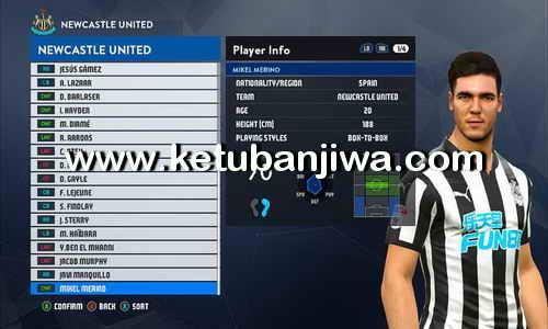 PES 2017 PTE Patch 6.0 Option File Update 06 August 2017 by Ferdiyansyah Ketuban Jiwa