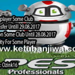PES 2017 Professionals 3.4 Option File v3.1 by Ozink