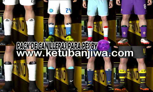 PES 2017 Shin Guard Pack by LPE Ketuban Jiwa