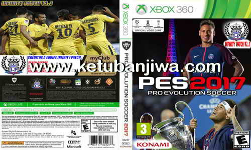 PES 2017 XBOX360 Infinity Patch 2.3 AIO Season 17/18