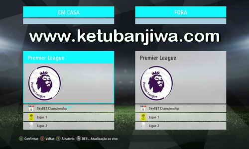 PES 2018 Menu Mod For PES 2017 by Estarlen Silva Ketuban Jiwa