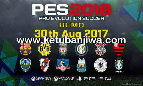 Pro Evolution Soccer PES 2018 Demo XBOX 360 Single Link Torrent Ketuban Jiwa