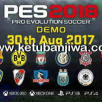 Pro Evolution Soccer PES 2018 Demo PS3 Single Link