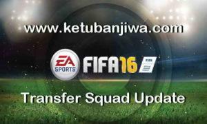 FIFA 16 Transfer Squad DB Update 05 September 2017