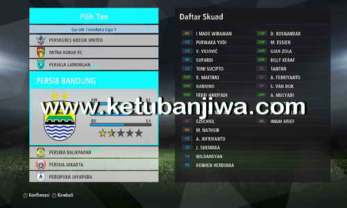 Download PES 2017 Addon Gojek Traveloka Liga 1 Indonesia For PTE Patch 5 + PTE Patch 6 AIO by Shayz Ketuban Jiwa