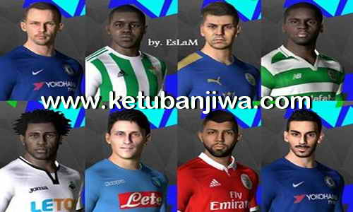 Download PES 2017 SMoKE Patch 9.4.5 Option File + Fix Update 03 September 2017 by Eslam Ketuban Jiwa