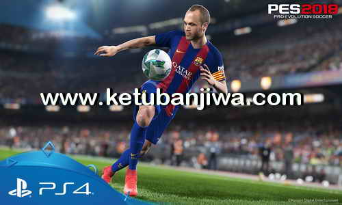 Download PES 2018 PS4 Full Games Region US + Asia