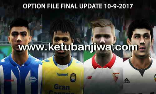 PES 2013 Option File Final Summer Transfer Update 10 September 2017 by Micano4u Ketuban Jiwa