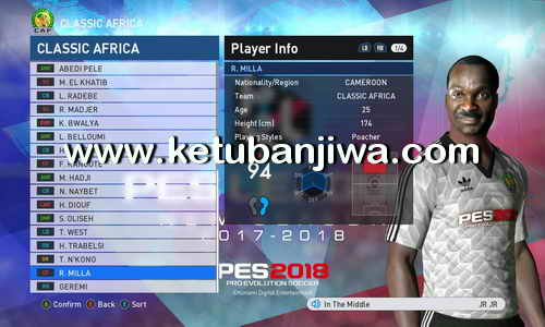PES 2017 Classic Pack For Professionals Patch v3.5 by Mohamed Gamal Ketuban Jiwa