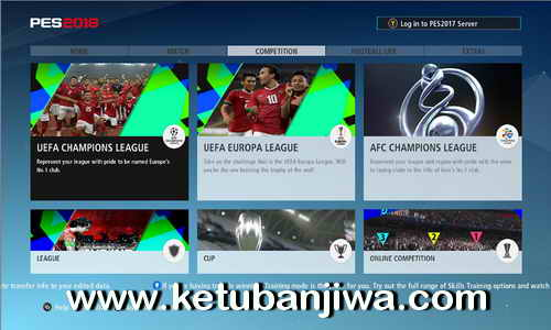PES 2017 Indonesia Graphic Menu by AD Mods Ketuban Jiwa Preview 1