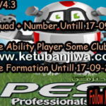 PES 2017 Professionals 3.5 Option File 4.3 by Ozink