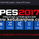 PES 2017 PES Tuning Patch v1.04.01.3.00.2 Update 2