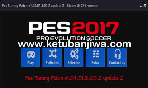 PES 2017 PES Tuning Patch v1.04.01.3.00.2 Update 2 Ketuban Jiwa