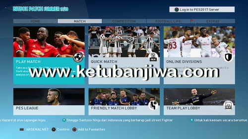 PES 2017 PS3 CFW BLAS Bitbox Patch Season 2017-2018 Ketuban Jiwa Preview 1
