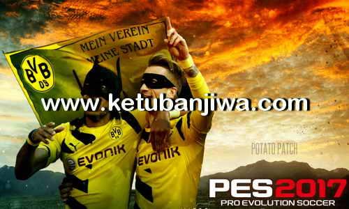 PES 2017 PS3 CFW BLES02237 Potato Patch v7 Update New Season 2017-2018 Single Link Google Drive Ketuban Jiwa
