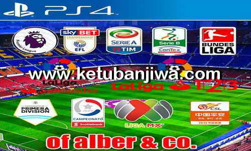 PES 2017 PS4 Option File v9 Transfer Update 10 September 2017 by Alber & CO Ketuban Jiwa