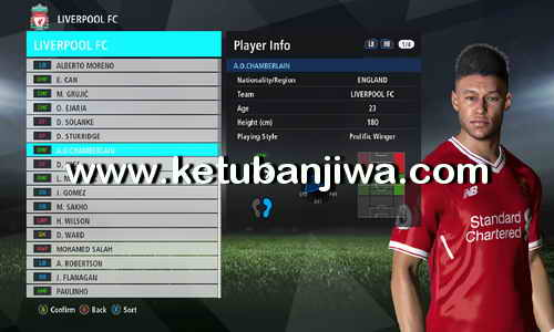 PES 2017 PTE Patch 5 + 6 Option File Update 02 September 2017 by Shayz Ketuban Jiwa