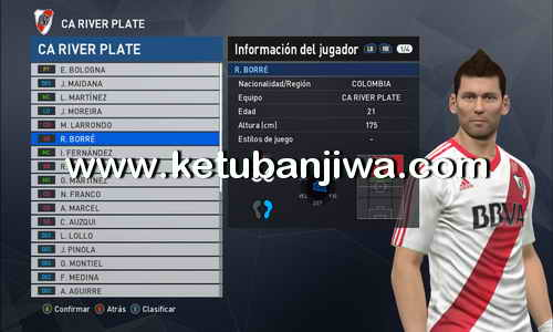 PES 2017 PTE Patch 6.0 Option File Update 03 September 2017 by Jhon Marin Ketuban Jiwa