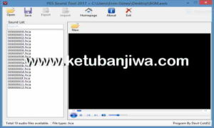PES 2017 Sound Tool v1.0 by Devil Cold52 Ketuban Jiwa