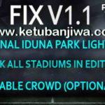 PES 2017 Stadium Pack + Graphics PS4 Fix v1.1