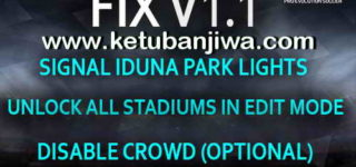 PES 2017 Stadium Pack + Graphics PS4 Fix v1.1 by Estarlen Silva Ketuban Jiwa