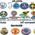 PES 2018 HD 3D Logos All Teams + Competitions