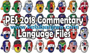 PES 2018 PS3 Brazilian Commentary Language Files