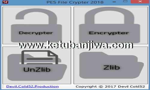 PES 2018 File Crypter v2 Tool by Devil Cold52 Ketuban Jiwa