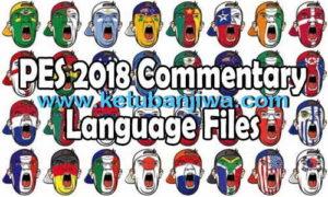 PES 2018 Italian Commentary Language Files