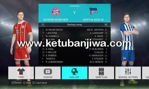 PES 2018 OPE Option File Update 24 September 2017 For PS4 Ketuban Jiwa