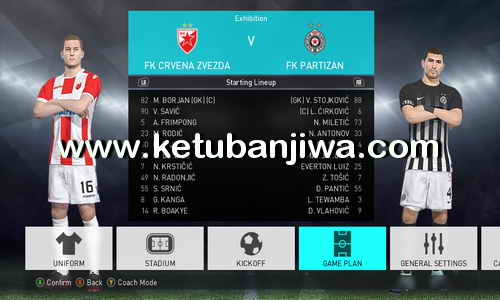 PES 2018 Option File v1 + v2 For PC by Kilay Ketuban Jiwa