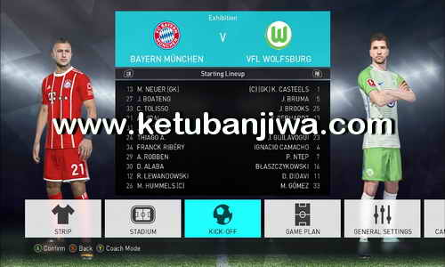 PES 2018 Option File v8 Single Link For PC by InMortal Ketuban Jiwa