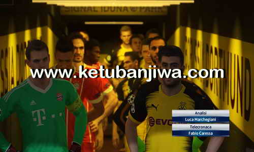 PES 2018 PESFan Option File v4 All In One For PS4 Ketuban Jiwa