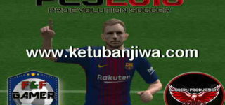 PES 2018 PS2 Full Games ISO File Single Link by Modern HD Style + F&F Gamer Ketuban Jiwa