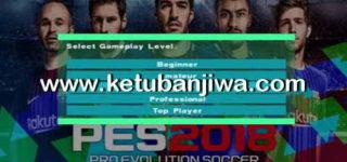 PES 2018 PS2 HD v1 ISO File Single Link Ketuban Jiwa