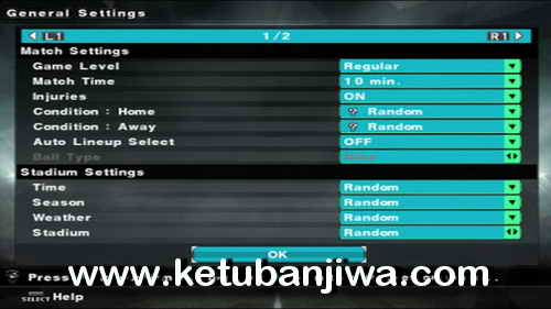 PES 2018 PS2 HD v1 ISO File Single Link Ketuban Jiwa Preview 1