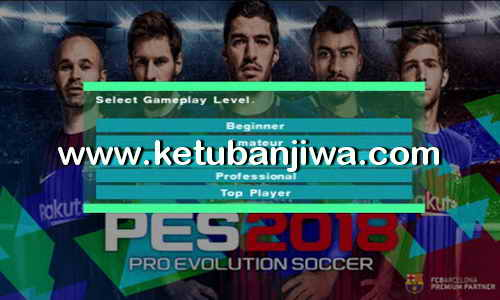 PES 2018 PS2 HD v1 ISO File Single Link Ketuban Jiwa
