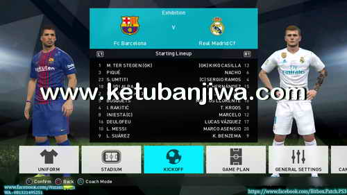 PES 2018 PS3 CFW To OFW Inject BITBOX Patch Summer 17-18 Ketuban Jiwa Preview 1