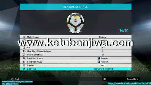 PES 2018 PS3 CFW To OFW Inject BITBOX Patch Summer 17-18 Ketuban Jiwa Preview 3