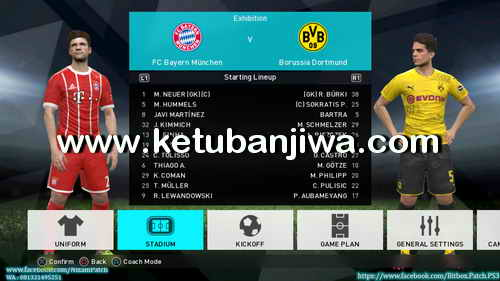 PES 2018 PS3 CFW To OFW Inject BITBOX Patch Summer 17-18 Ketuban Jiwa Preview 4