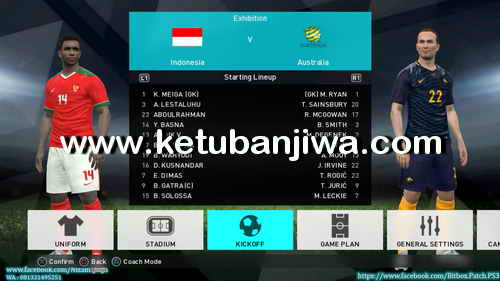 PES 2018 PS3 CFW To OFW Inject BITBOX Patch Summer 17-18 Ketuban Jiwa Preview 5