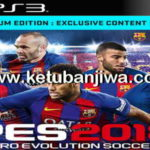 PES 2018 PS3 Option File Fix Kits + Names + Logos