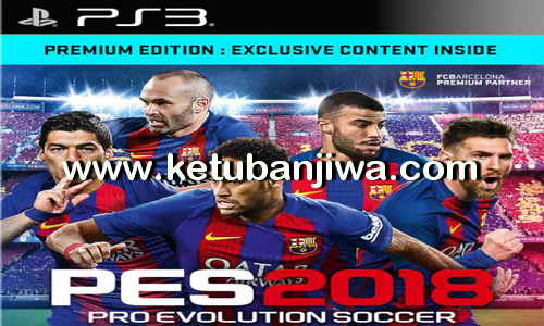 PES 2018 PS3 Full Games Single Link Duplex