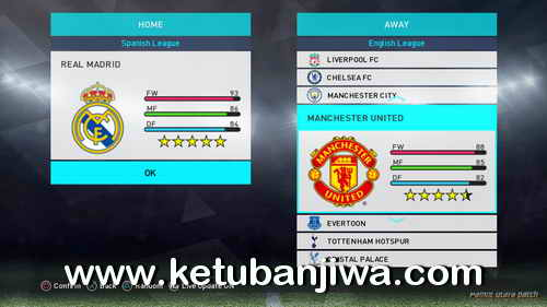 PES 2018 PS3 Pamot Utara Option File Real Kits + Names + Logos Ketuban Jiwa Preview 2