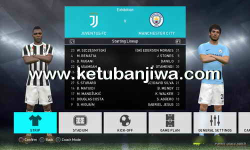 PES 2018 PS3 Pamot Utara Option File Real Kits + Names + Logos