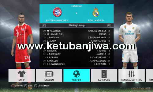 PES 2018 PS3 Pamot Utara Option File v1.1 Fix Bundesliga Ketuban Jiwa