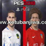 PES 2018 PS4 Chinese Super League Option File