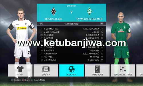 PES 2018 PS4 OPE Option File Update Bundesliga 16 September 2017 Ketuban Jiwa