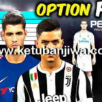 PES 2018 PS4 + PC Super Option File Full Bundesliga